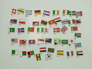 where in the world-flags