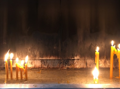 bel-ascension of the lord church candles