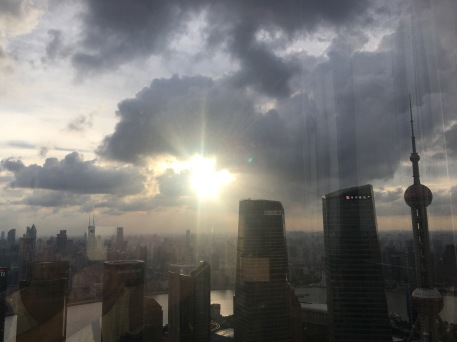 Sunset on Shanghai