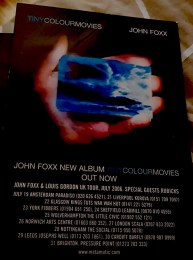 john foxx-tiny colour movies postcard-photo paul shepherd