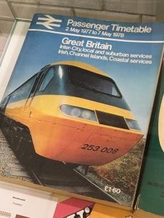 british rail timetable 77-78