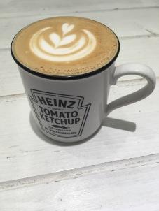 11 latte ketchup mug