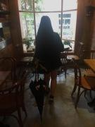 20 lady with umbrella
