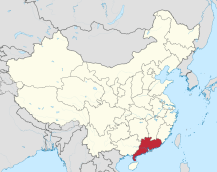6 map of guangdong_china