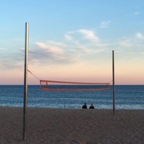 bada-vollyball sunset