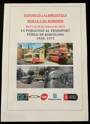 bcn-transport exhibition poster