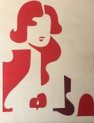 elche-red woman